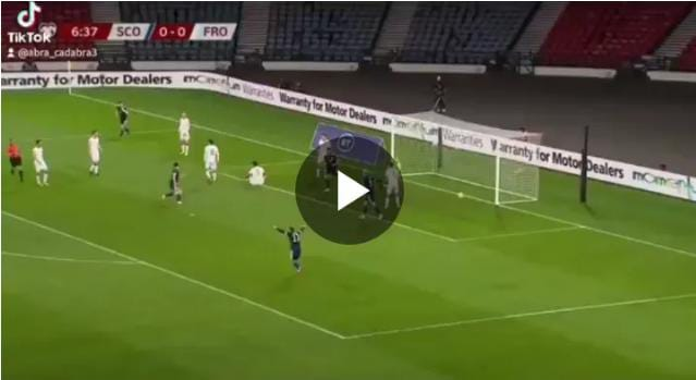 STARBOY! Watch Tierney incredible hat-trick of assists Over Faroe Island