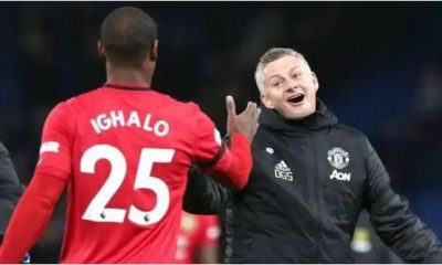 Ighalo Fires At Solskjaer