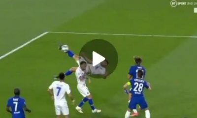 Watch Goal As Mehdi Taremi scores masterful overhead kicks Against Chelsea