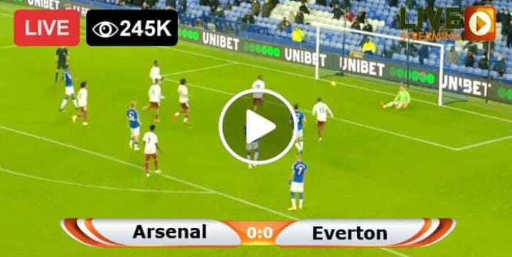 Watch Arsenal vs Everton Live Match and Goal Highlights
