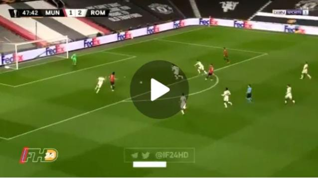 To Talented! Wacth Edinson Cavani Outstanding Performance Against AS Roma
