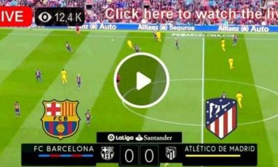 Watch Barcelona vs Atletico Madrid Live Match and Goal highlights