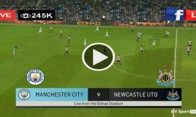 Watch Newcastle vs Manchester city Live match and Goal Highlights