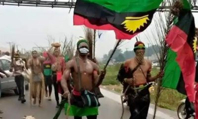 Police vs IPOB: 5 Suspects Arrested And Weapons Recovered